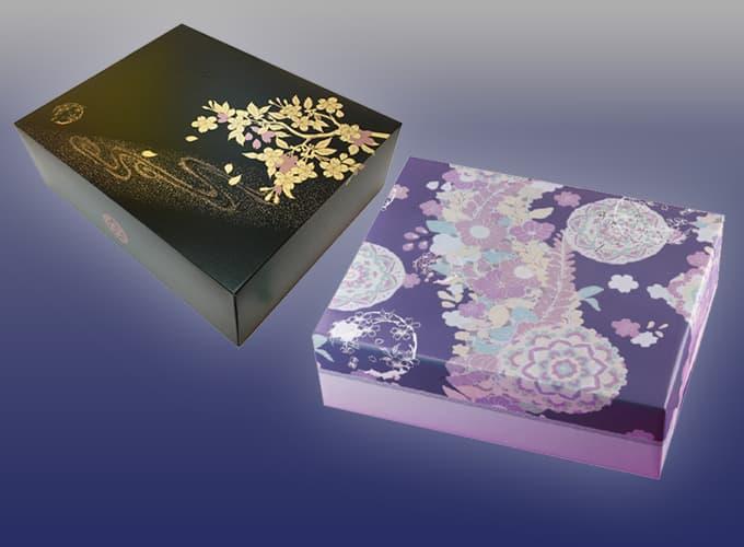 西陣織を模した格調高い仏事用包装