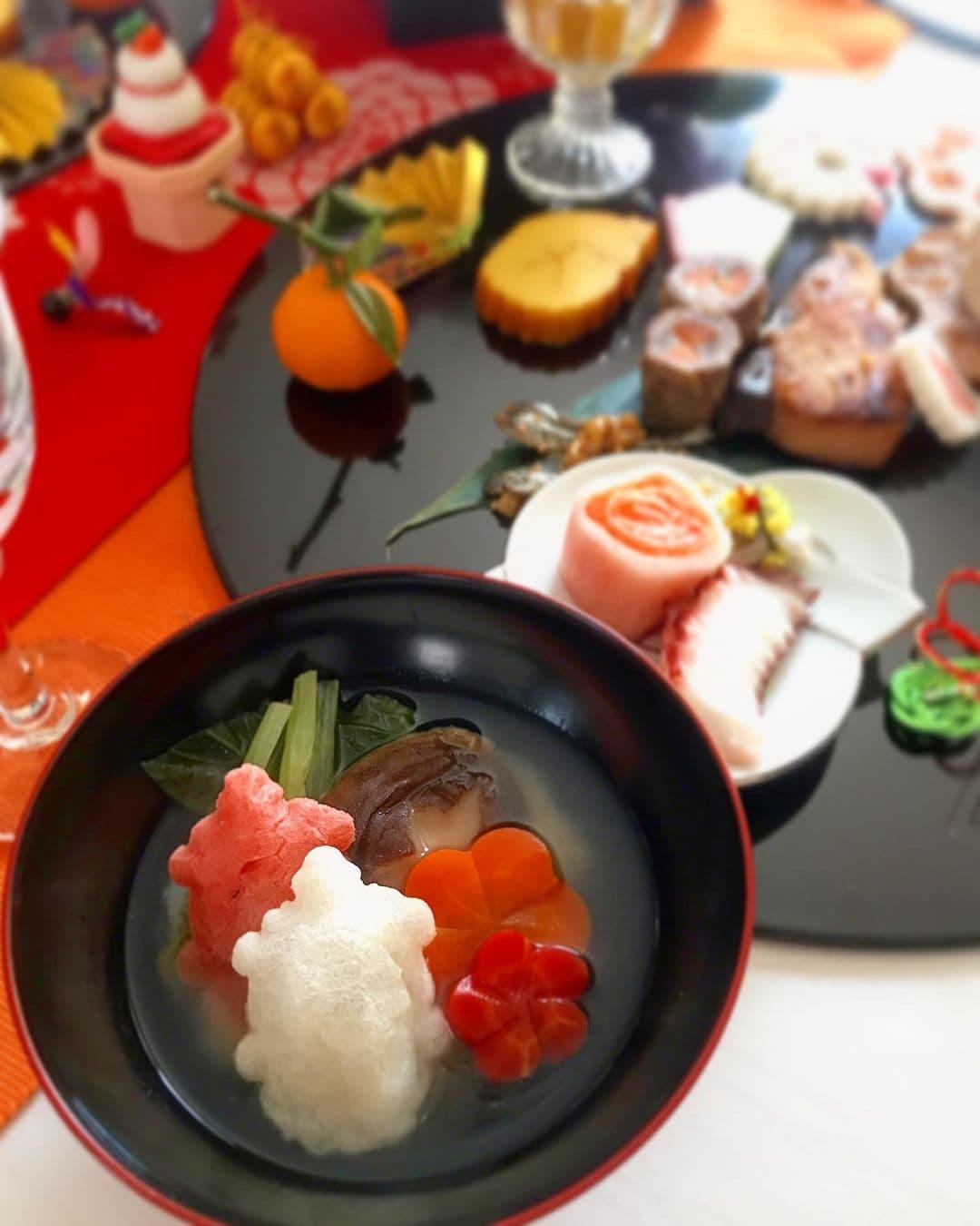 【紅白亀甲餅お雑煮コンテスト グランプリ】