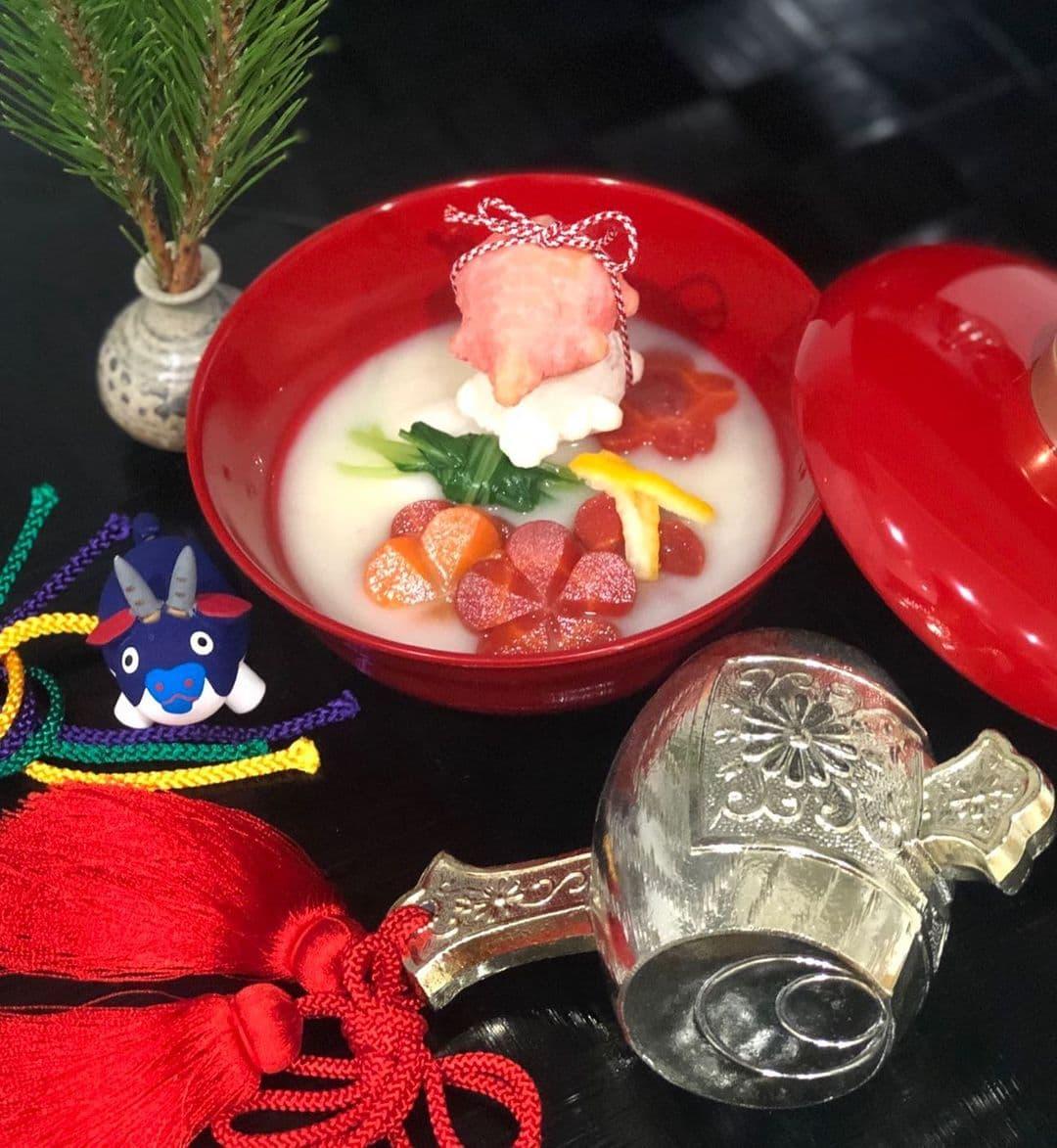 【紅白亀甲餅お雑煮コンテスト 入賞】