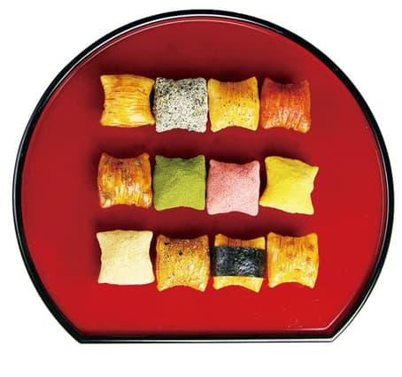 12種の味で季節を語る「綴れ」はお客様へのおもてなしに最高の京のあられ・おかきです