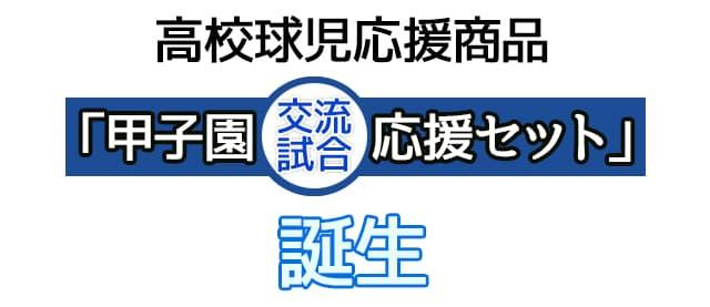 3社+菓匠 宗禅の商品を詰合せた甲子園交流試合応援セットが誕生