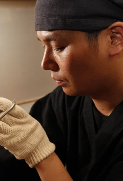 日本で唯一のあられ上技師 山本 宗禅